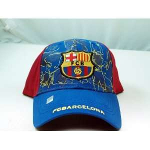 FC BARCELONA OFFICIAL TEAM LOGO CAP / HAT   FCB005 Sports