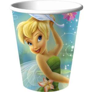 Disney FAIRIES Tinkerbell BIRTHDAY Party Paper CUPS
