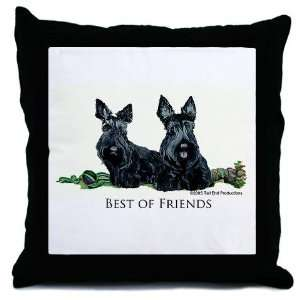 Best Friends Pets Throw Pillow by CafePress: Everything