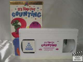 Barney   Its Time For Counting VHS Barney the Dinosaur 045986020222