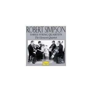 Robert Simpson Three String Quartets Robert Simpson, The