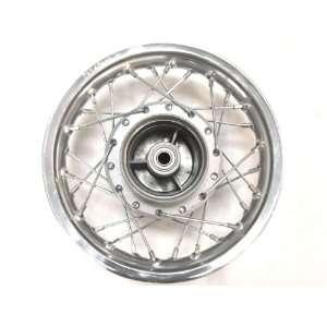 Silver Chrome Rear Rim Wheel Drum Honda XR50 CRF50 Fit Stock Pit Bike