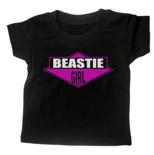 BEASTIE GIRL BEASTIE BOYS INSPIRED BABY T SHIRT MUSIC HIP HOP LABEL