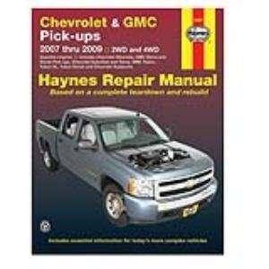 Repair Manual for Chevrolet and GMC Pick ups 2007 thru 2009 (24067