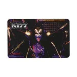 Phone Card KISS Rock & Roll Band   Gene Simmons (Horizontal) (HO
