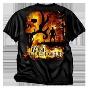 Club Red Michael Waddel Bone Collector Tee Shirt Black 3x