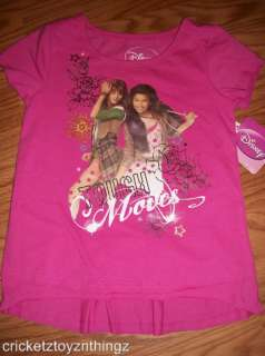 ROCKY BLUE & CECE JONES Disney SHAKE IT UP New Girls Baby Doll T shirt