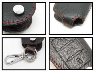 Leather Smart Key Holder Fob Case Chain C E CLK Class F