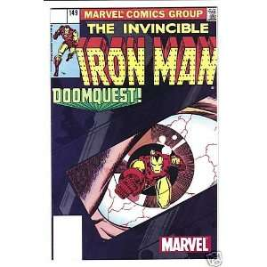 MARVEL THE INVINCIBLE IRON MAN #149 DOOMQUEST COMIC 02
