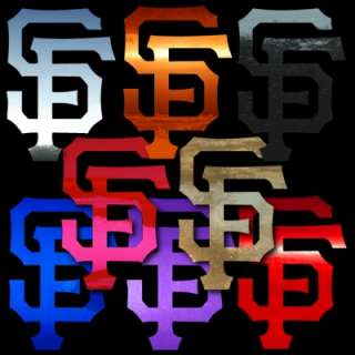 San Francisco Giants 23 Chrome Window Sticker Decal
