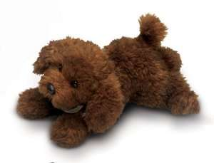 Russ Berrie Yomiko 12 Plush Brown POODLE Dog ~NEW~ 039915359569
