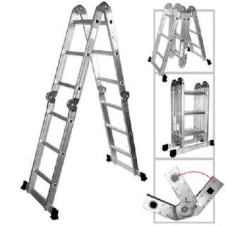 Multi Purpose Aluminum Folding Ladder Contractor Tools