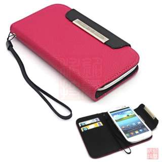i9300 Galaxy S3 III Wallet Leather case Card Holder Flip Case Cover