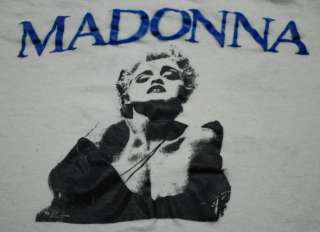 VTG MADONNA WHOS THAT GIRL WORLD TOUR SHIRT 1987 XL