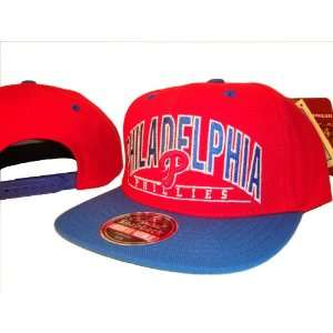 Philadelphia Phillies Blue & Red Adjustable Snap Back Baseball Cap Hat