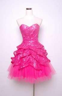 Betsey Johnson Evening Sugar & Spice Dress Size 8 Pink