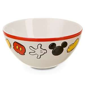 Disney Mickey Mouse Body Parts Ceramic Bowl