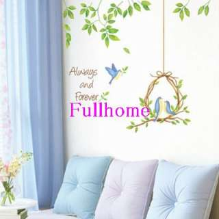 Always and Forever Mural Decals Wall Sticker Decor E076