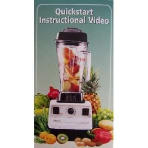 Vita Mix VHS Quickstart Instructional Video: Everything