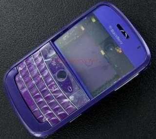 Purple RIM BlackBerry Bold 9000 Full Housing Case Cover