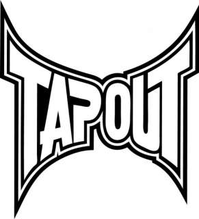 TAPOUT VINYL DECAL / STICKER