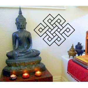 Endless Knot Wall Decal Sticker Buddha Brahman Hindu