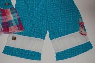 Naartjie 5 5T ASYMMETRICAL BALI SPOT TANK TOP & SMOCKED PANT Set WHITE