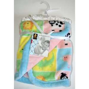 Thick Soft Plush Baby Infant Blanket 30 x 40 by Baby Northpoint