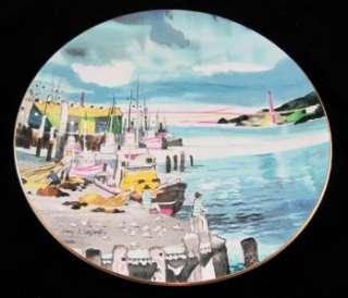 Royal Doulton Dong Kingman San Francisco Port Plate MIB