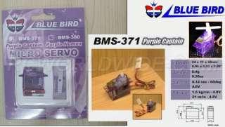 Blue Bird BMS 371 8g Micro Servo Futaba JR GWS Sanwa KO