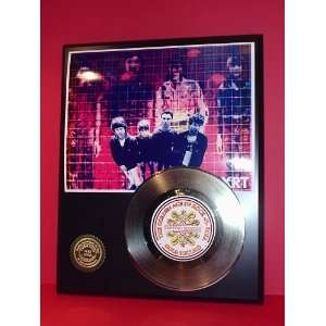 Talking Heads 24kt Gold Record LTD Edition Display ***FREE