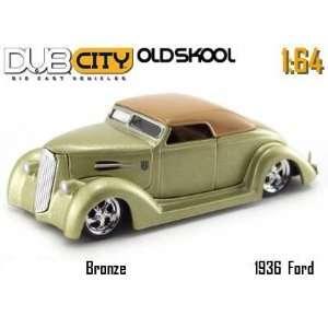 Jada Dub City Oldskool Bronze 1936 Ford 1:64 Scale Die
