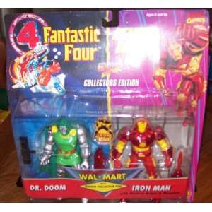 Fantastic Four and Iron Man ~ Dr. Doom & Iron Man Toys & Games