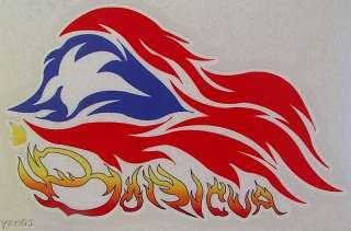 PUERTO RICO BORICUA FLAG DECALS STICKERS