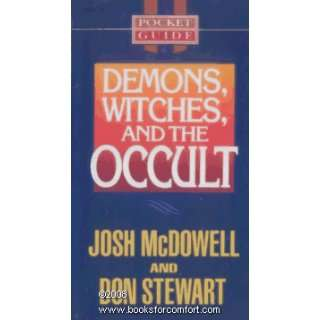 , Witches, and The Occult Pocket Guide Series Josh McDowell Books