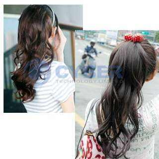 Curly Ponytail Pony Synthetic Fiber Hair Extensions Fashional
