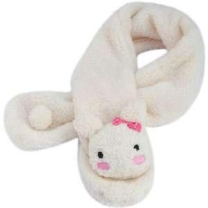 Cute Animal Plush Scarf Shy Bunny (Pink Bow) Toys & Games