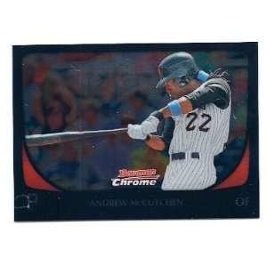 Chrome #46 Andrew McCutchen Pittsburgh Pirates