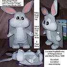 Looney Tunes Baby Bugs Bunny Plush with BOOK Story items in Snodgrass