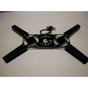 Black Super Mini USB Fan Laptop Notebook Cooler