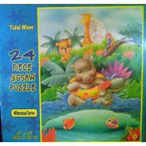 Whimsical Series 24 Piece Jigsaw Puzzle Tidal Wave Toys