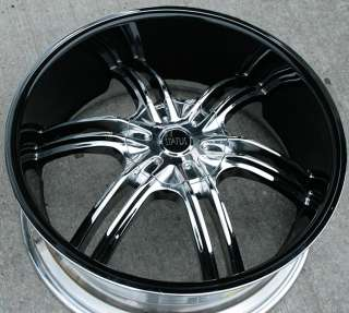 STATUS QUO 22 CHROME RIMS WHEELS GRAND MARQUIS MILAN