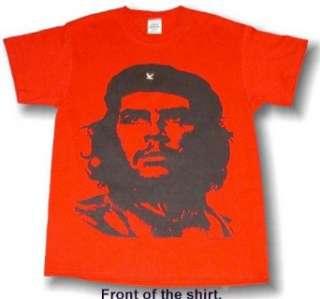 CHE GUEVARA Vintage Short Sleeve Mens RED Tee Shirt Small