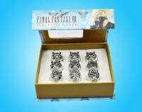 Final Fantasy VII FF7 Cloud Strife Cloudy Wolf Rings Set