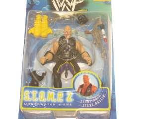 WWF STOMP Stone Cold Steve Austin Wrestling Figure, WWE
