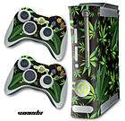 SKIN STICKER COVER DECAL FOR ORIGINAL XBOX 360 + 2 CONTROLLER SKINZ