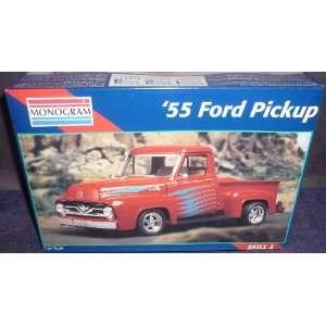Monogram 124 55 Ford Pickup Car Model Kit Everything