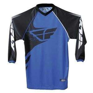 Fly Racing Free Ride Jersey   2007   Small/Black/Grey