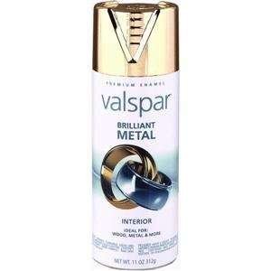 Brilliant Metal Spray Paint   465 66009 SP (Qty 6)