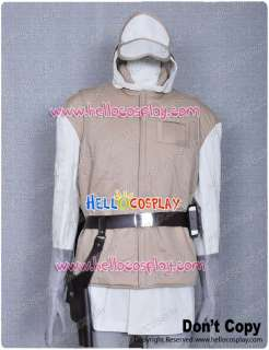 Star Wars ESB Luke Hoth Rebel Soldier Trooper Uniform Costume Jacket